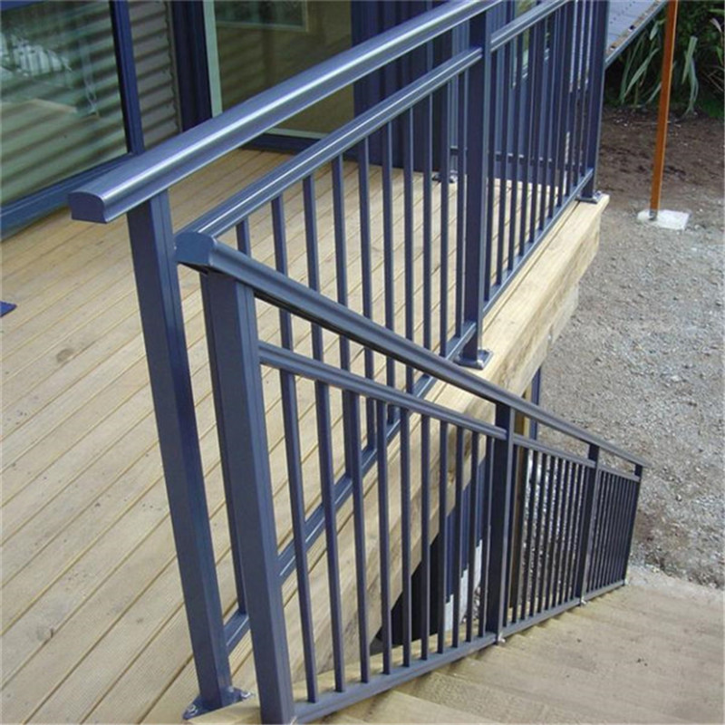 High Quality Staircase Aluminum Balustrade With Anodizing Finish