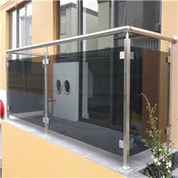 Factory Supply Stainless Steel Roof Glass Post Railing