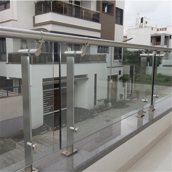 Balcony Tempered Safety Glass Railing Designs