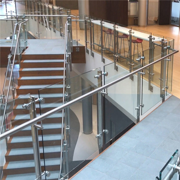 Interior Glass Stair Stainless Steel Balustrade Designs