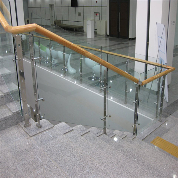 New Design Stair Baluster Railing Stainless Steel Glass Balustrade