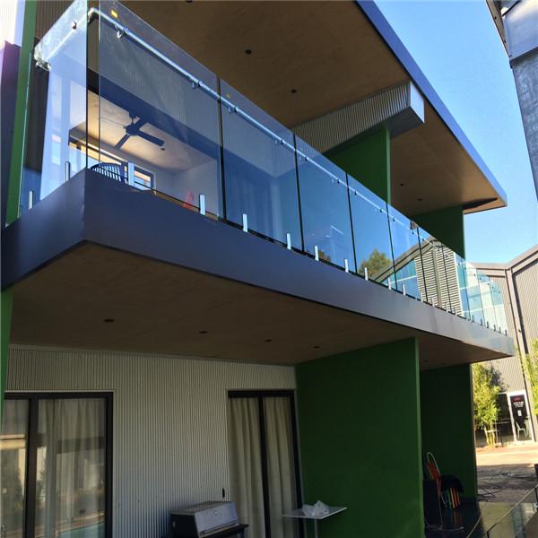 Stainless Steel Spigot Glass Railing Frameless Glass Balcony Railing