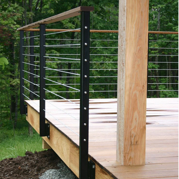Cheap price deck railings balcony stainless steel cable ...